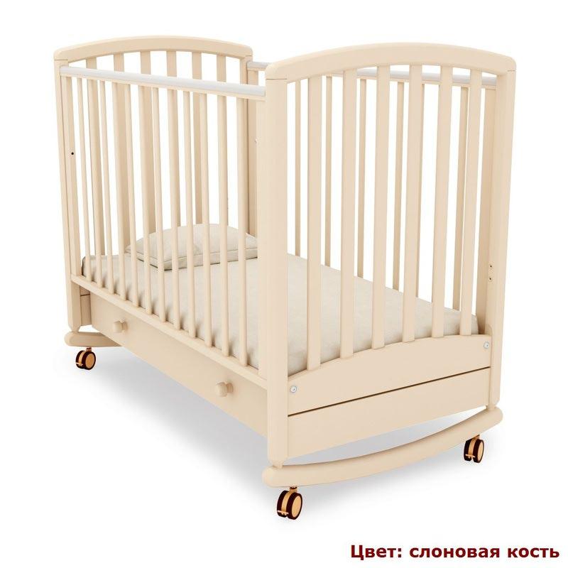 Кроватка GANDYLYAN Дашенька (качалка) (фото, вид 6)