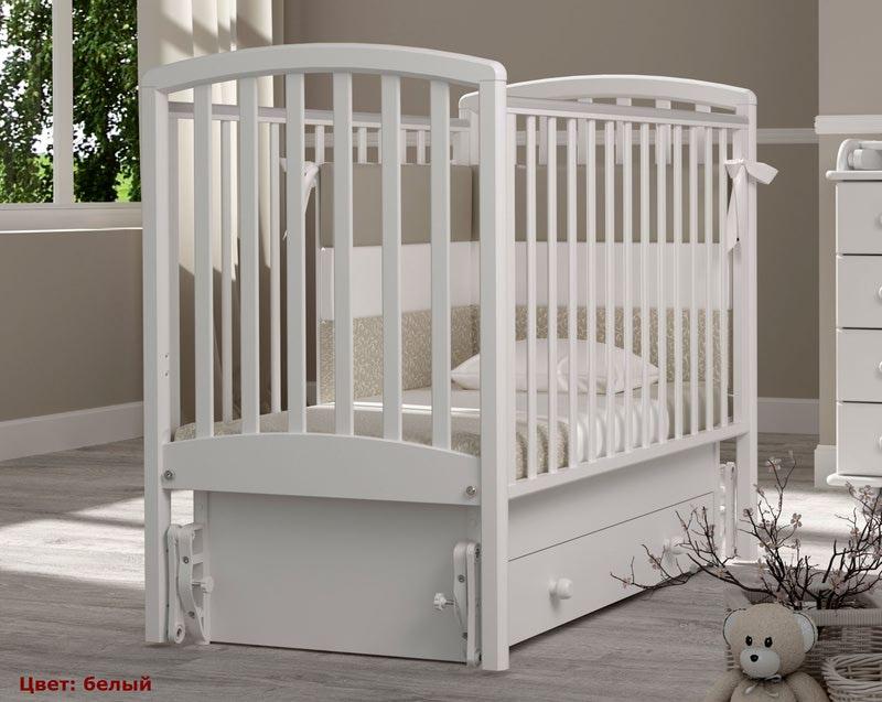 Кроватка GANDYLYAN Дашенька (качалка) (фото, вид 8)