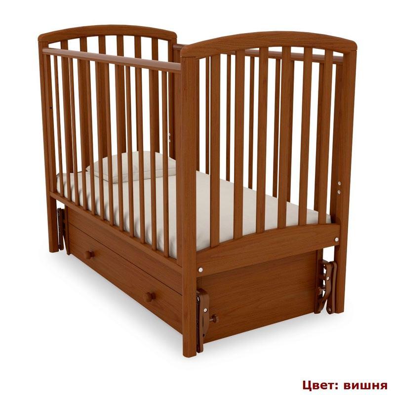 Кроватка GANDYLYAN Дашенька (качалка) (фото, вид 9)