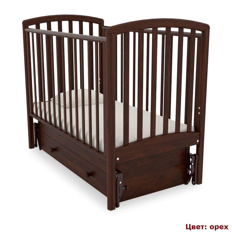 Кроватка GANDYLYAN Дашенька (качалка) (фото, вид 11)