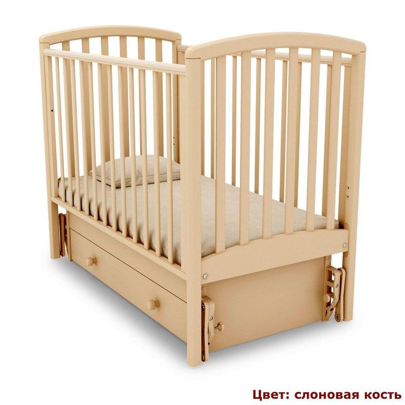 Кроватка GANDYLYAN Дашенька (качалка) (фото, вид 12)