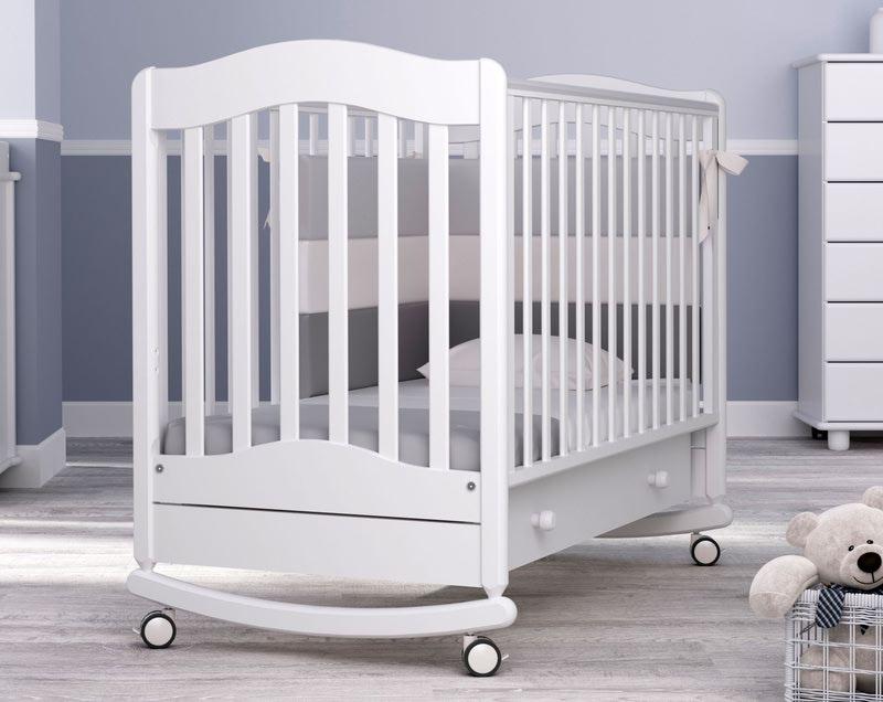 Кроватка GANDYLYAN ВАНЕЧКА (фото, вид 12)