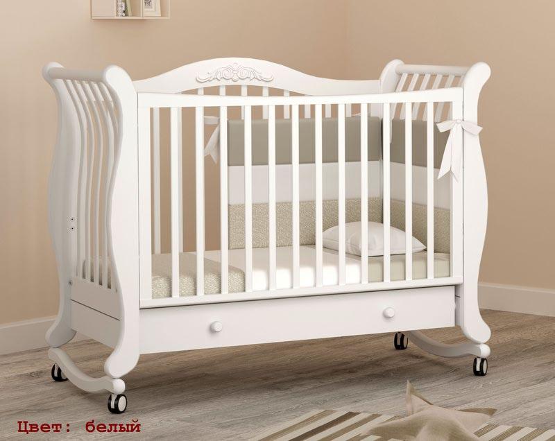 Кроватка GANDYLYAN Габриэлла (качалка) (фото, вид 7)