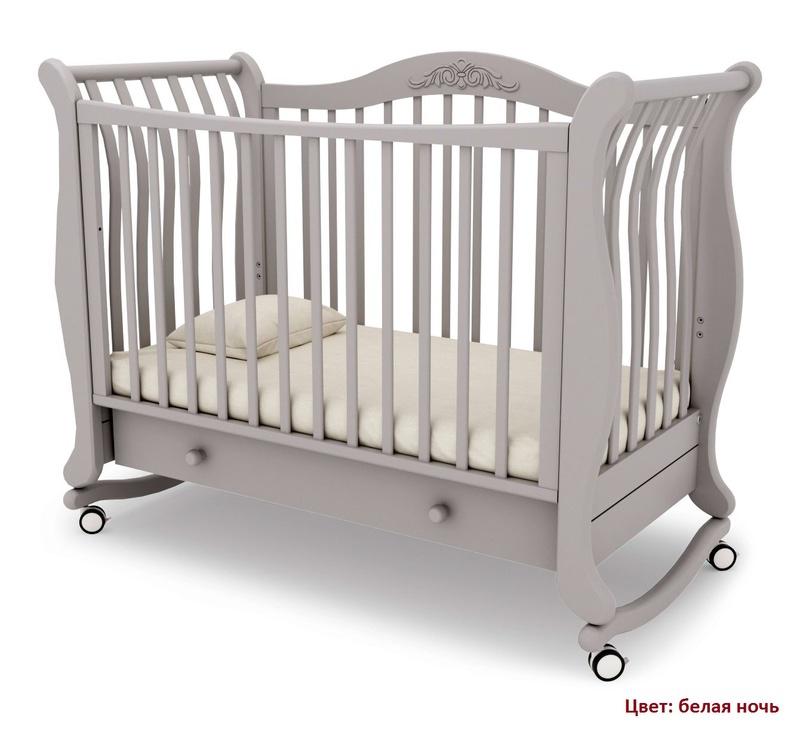 Кроватка GANDYLYAN Габриэлла (качалка) (фото, вид 8)