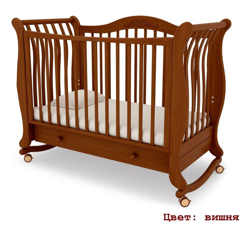 Кроватка GANDYLYAN Габриэлла (качалка) (фото, вид 9)