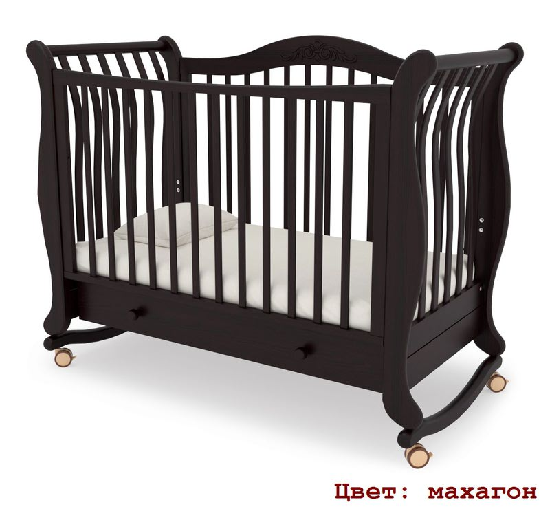 Кроватка GANDYLYAN Габриэлла (качалка) (фото, вид 10)