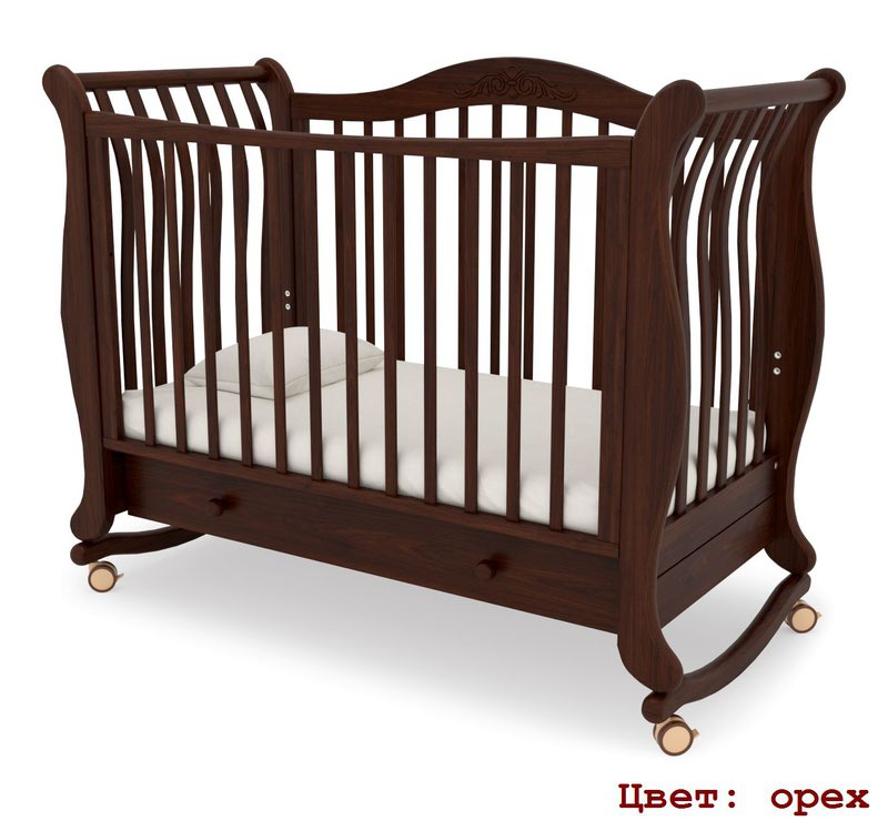 Кроватка GANDYLYAN Габриэлла (качалка) (фото, вид 11)