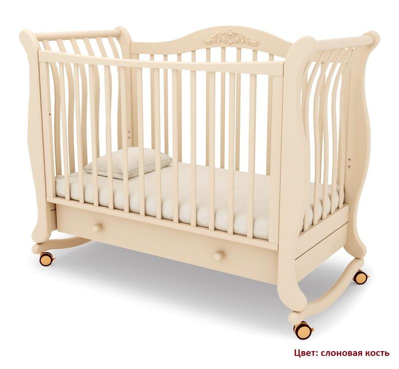 Кроватка GANDYLYAN Габриэлла (качалка) (фото, вид 12)