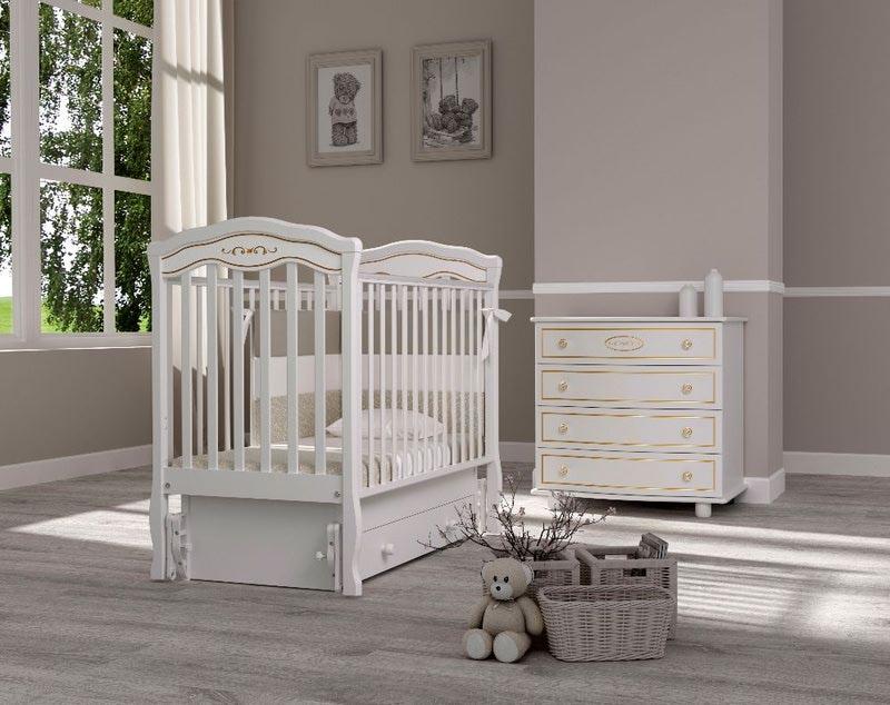 Кроватка GANDYLYAN Шарлотта Люкс (фото, вид 1)