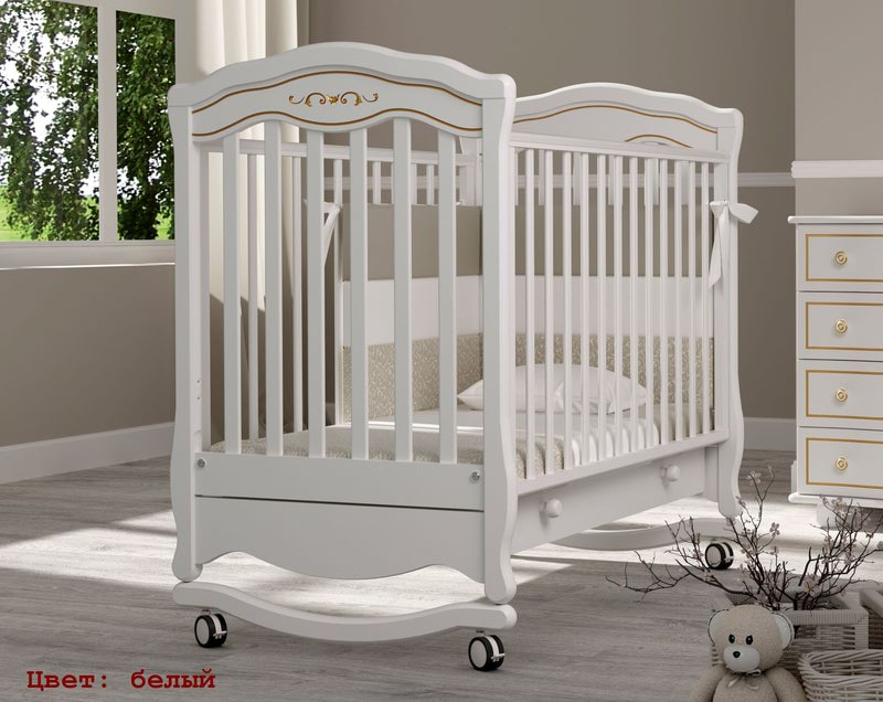 Кроватка GANDYLYAN Шарлотта Люкс (фото, вид 2)