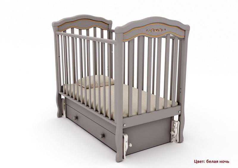 Кроватка GANDYLYAN Шарлотта Люкс (качалка) (фото, вид 5)