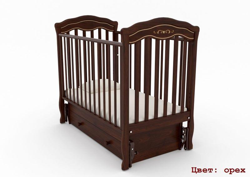 Кроватка GANDYLYAN Шарлотта Люкс (качалка) (фото, вид 7)