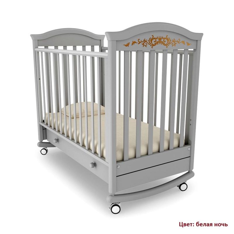 Кроватка GANDYLYAN Даниэль Люкс (качалка) (фото, вид 2)