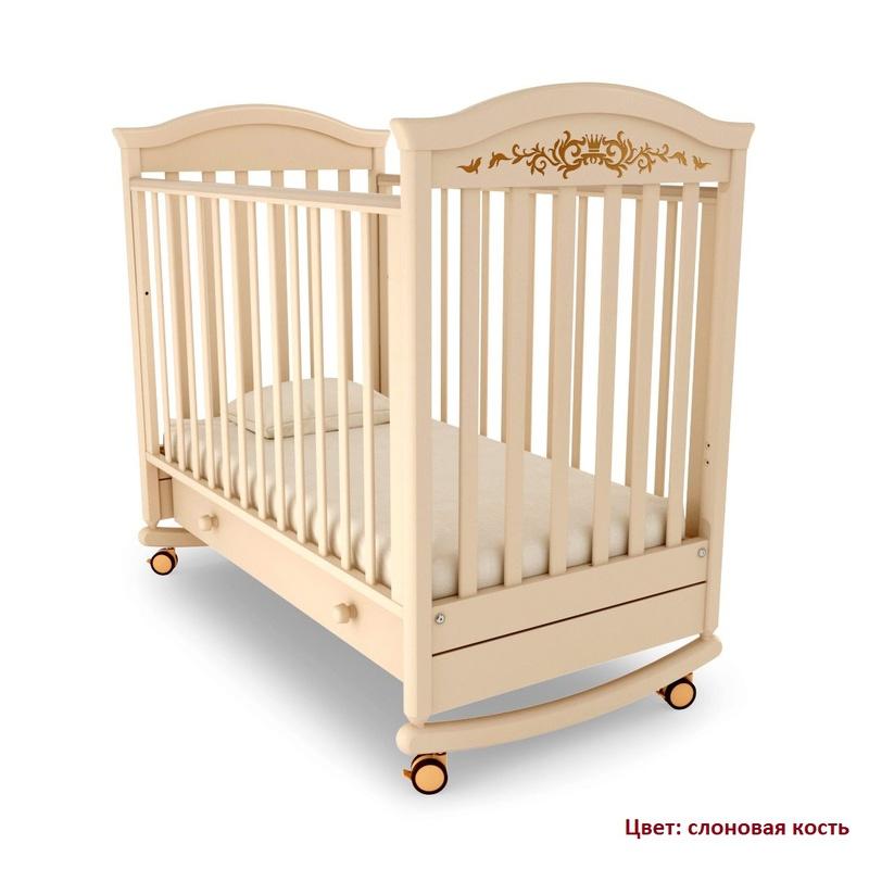 Кроватка GANDYLYAN Даниэль Люкс (качалка) (фото, вид 6)