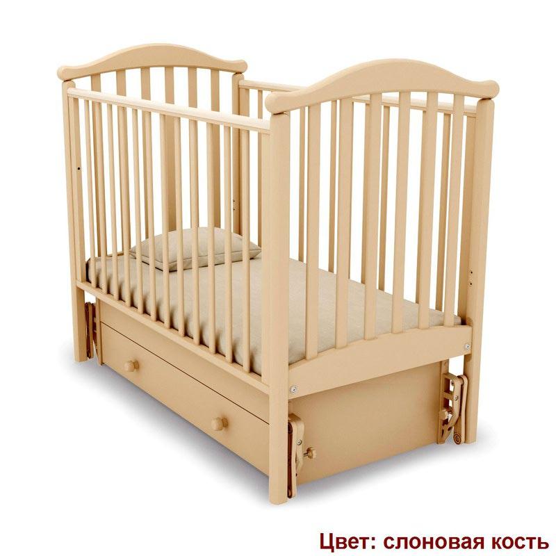 Кроватка GANDYLYAN ЛЮДМИЛА (маятник универсальный) (фото, вид 5)