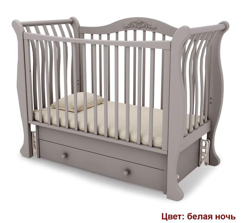 Кроватка GANDYLYAN Габриэлла (маятник универсальный) (фото, вид 6)
