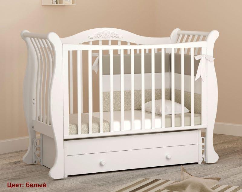 Кроватка GANDYLYAN Габриэлла (маятник универсальный) (фото, вид 7)
