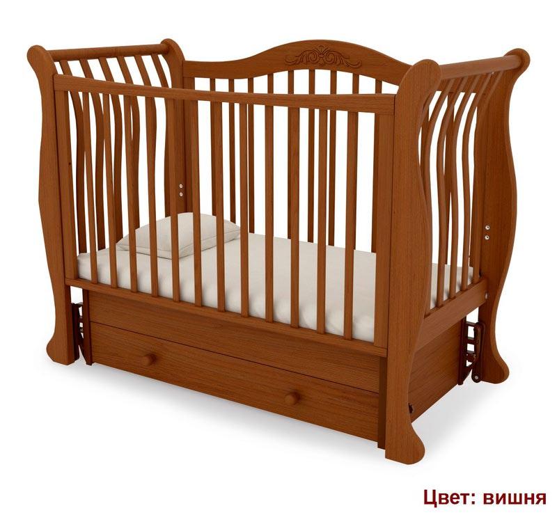 Кроватка GANDYLYAN Габриэлла (маятник универсальный) (фото, вид 8)