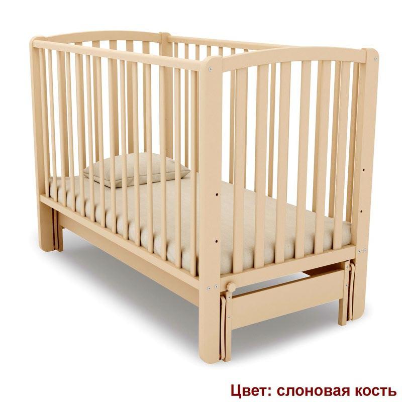 Кроватка Angela Bella (продольный маятник) (фото, вид 6)