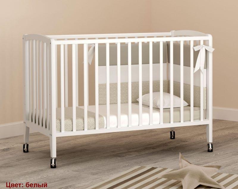 Кроватка Angela Bella Бьянка (фото, вид 4)
