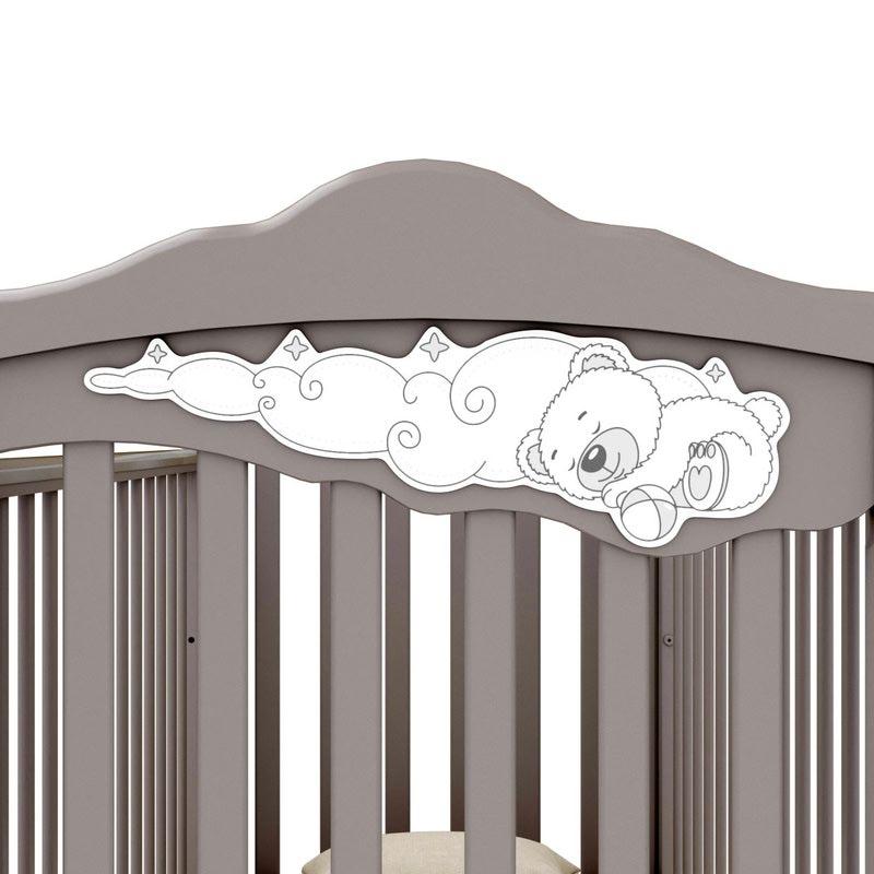 Кроватка GANDYLYAN Angela Bella Изабель (фото, вид 3)