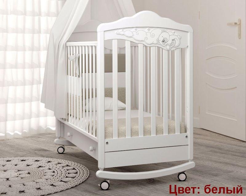 Кроватка GANDYLYAN Angela Bella Изабель (фото, вид 5)