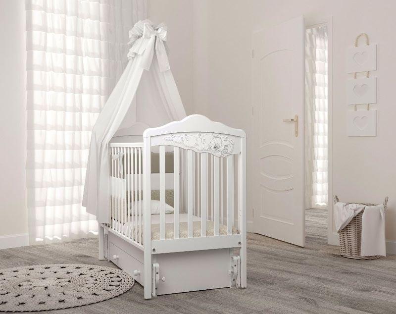 Кроватка GANDYLYAN Angela Bella Изабель (фото, вид 10)