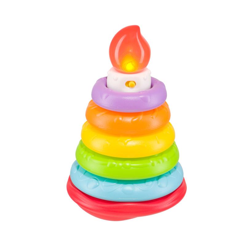 HAPPY BABY Музыкальная пирамидка HAPPY CAKE (фото, вид 1)