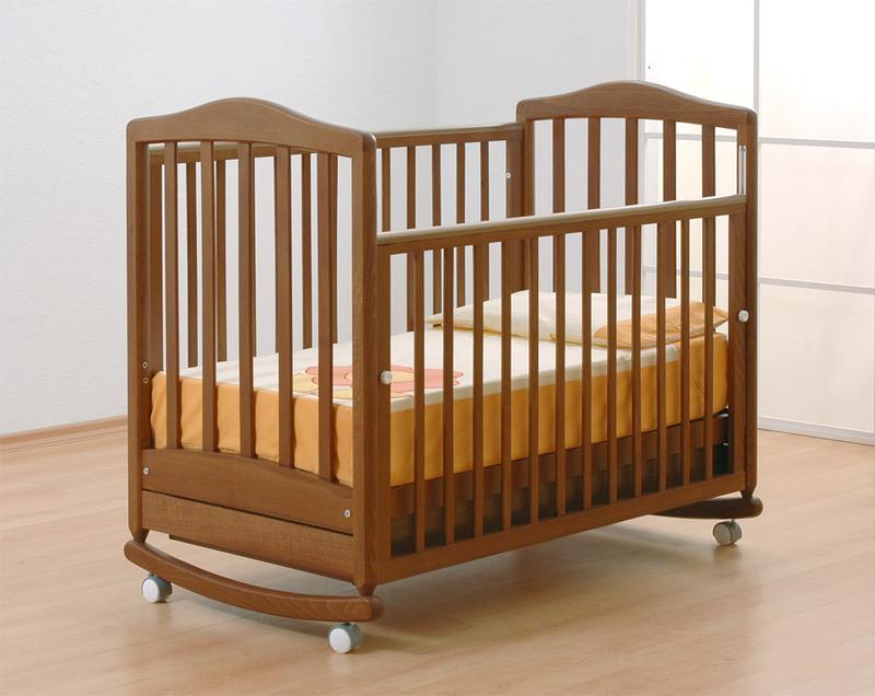 Кроватка GANDYLYAN СИМОНИК (качалка) (фото, вид 1)
