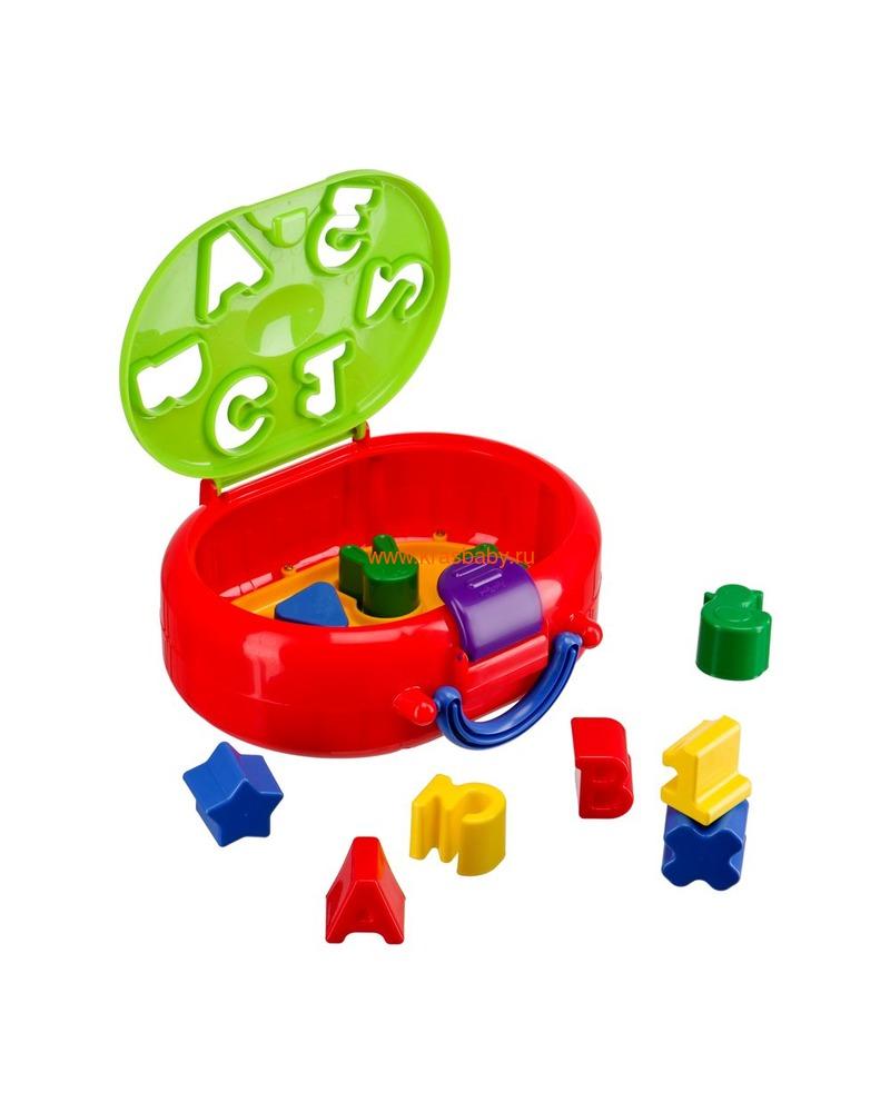 HAPPY BABY Игрушка-сортёр IQ-SORTER (фото, вид 1)