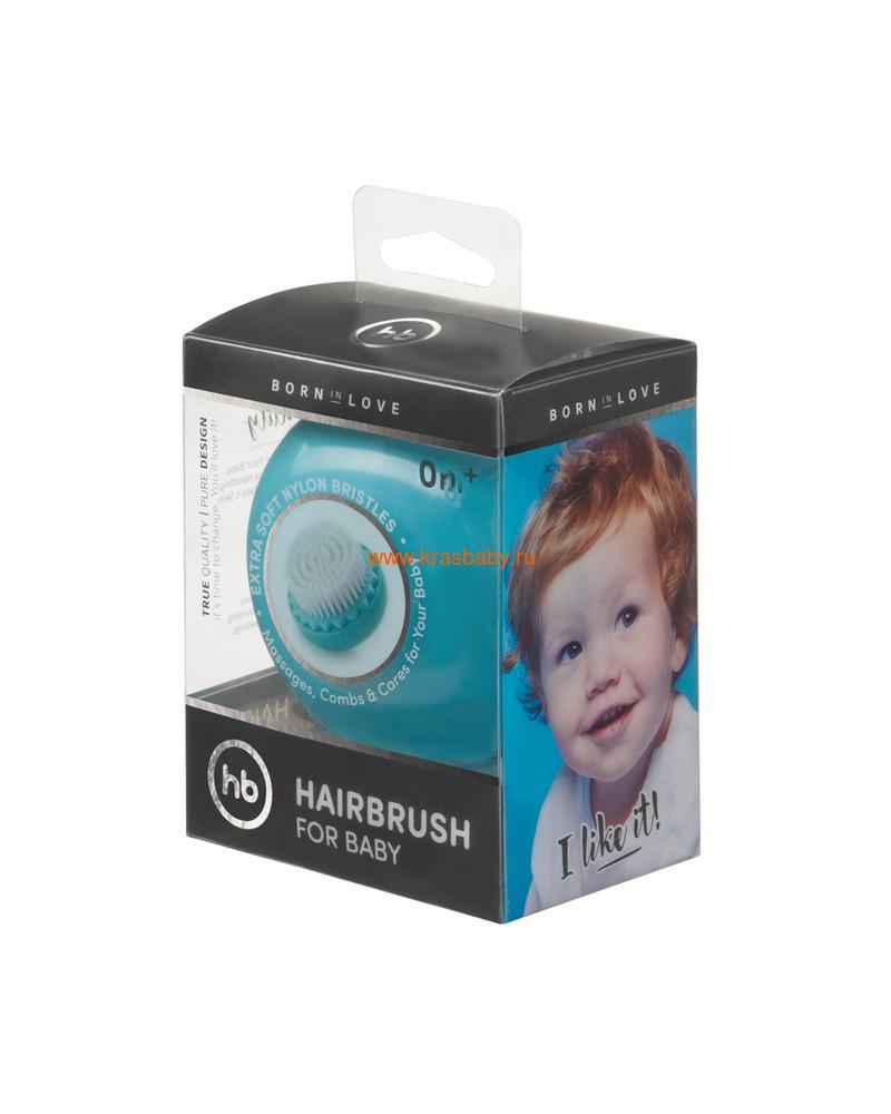 HAPPY BABY Детская щетка для волос HAIRBRUSH (фото, вид 13)