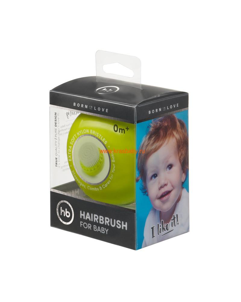 HAPPY BABY Детская щетка для волос HAIRBRUSH (фото, вид 16)