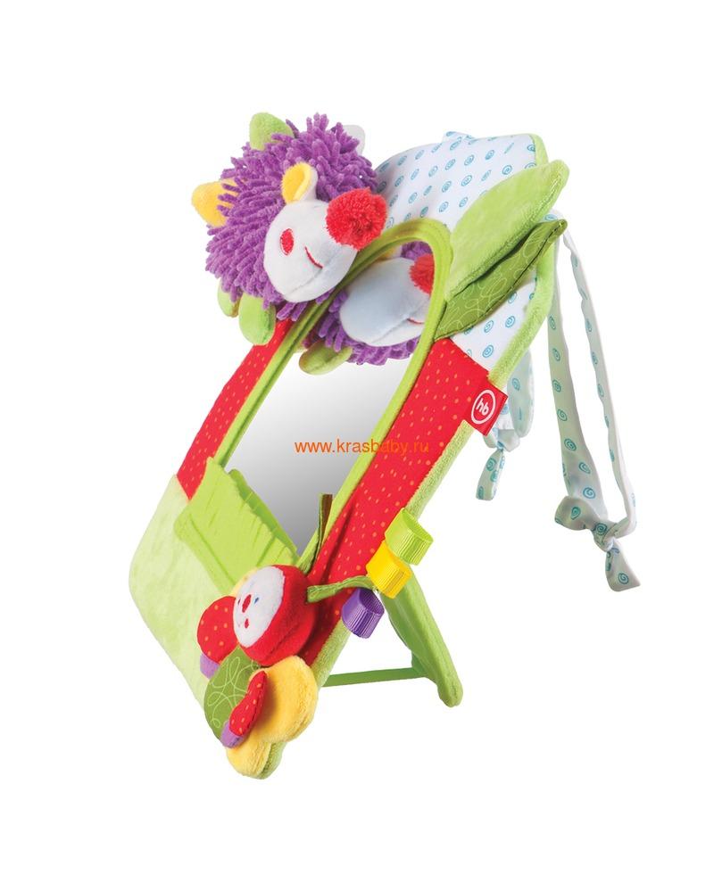 HAPPY BABY Развивающая игрушка-зеркало (фото, вид 1)