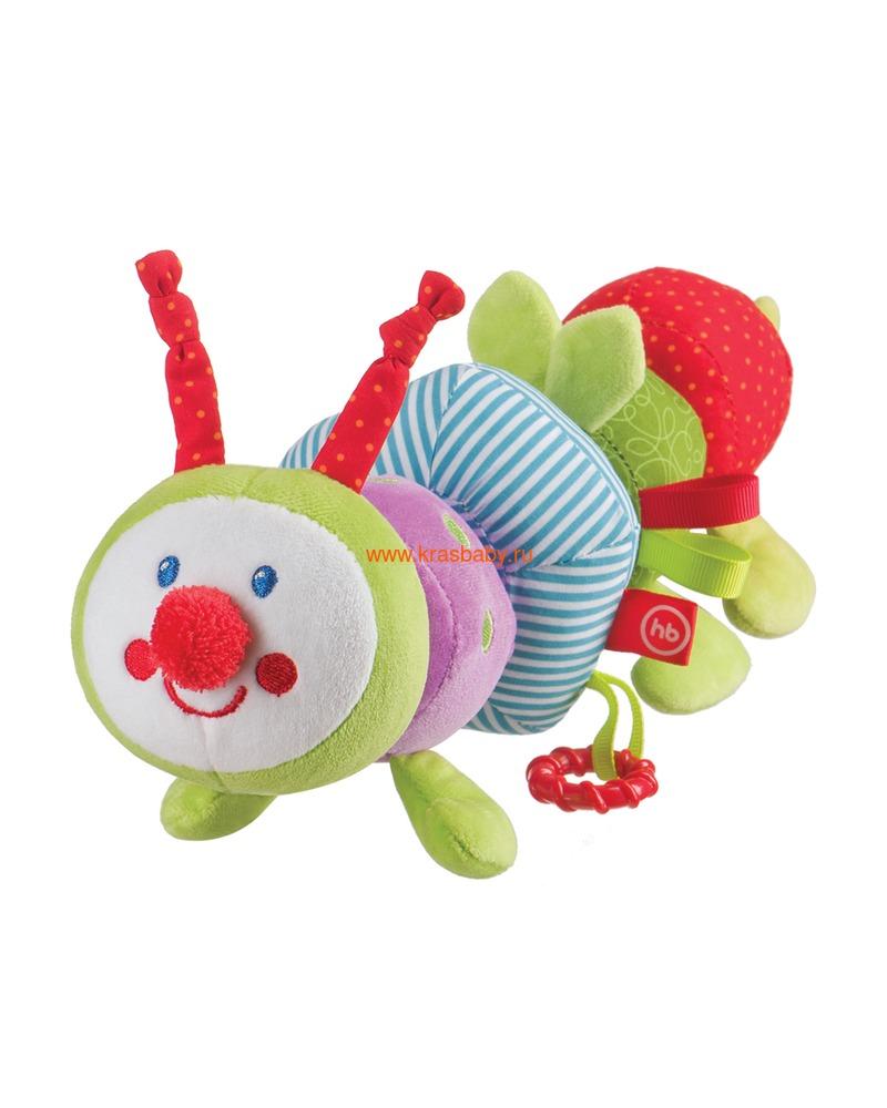 """HAPPY BABY Развивающая игрушка-трансформер """"Гусеница"""" (фото, вид 1)"""
