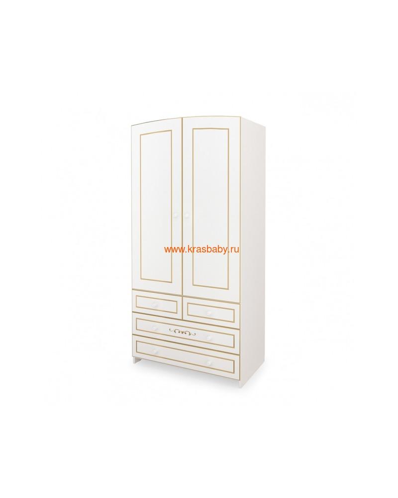Шкаф GANDYLYAN двухдверный люкс (фото, вид 1)