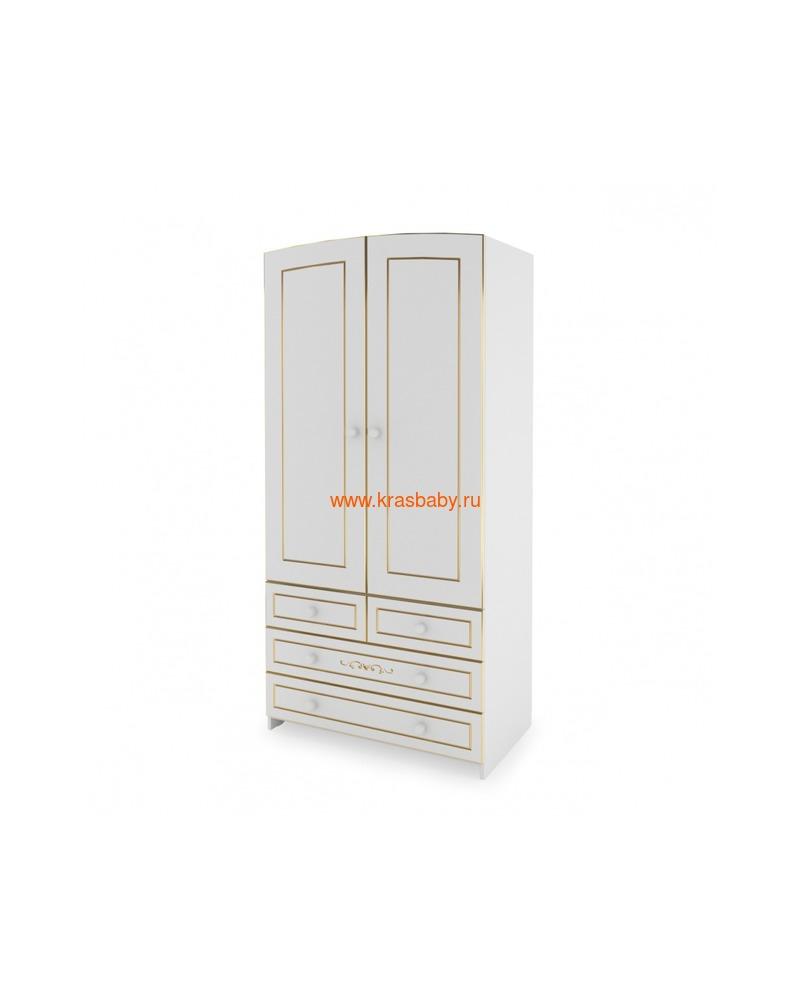 Шкаф GANDYLYAN двухдверный люкс (фото, вид 2)
