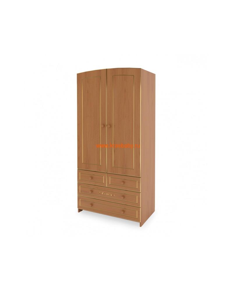 Шкаф GANDYLYAN двухдверный люкс (фото, вид 3)