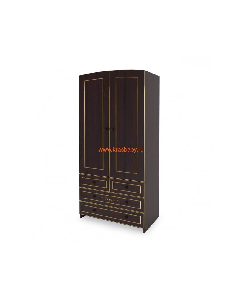 Шкаф GANDYLYAN двухдверный люкс (фото, вид 4)
