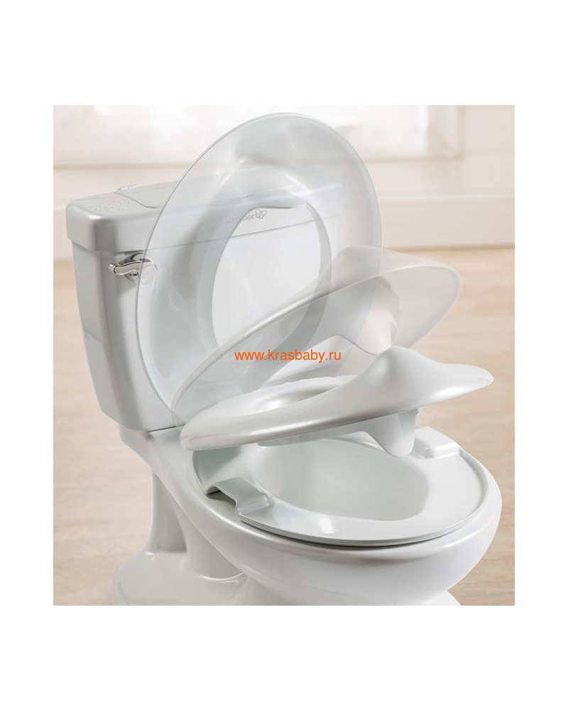 SUMMER INFANT Детский горшок My Size Potty (фото, вид 1)