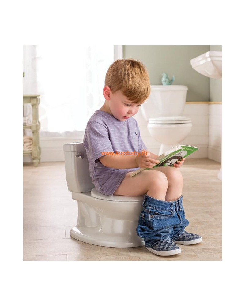 SUMMER INFANT Детский горшок My Size Potty (фото, вид 6)