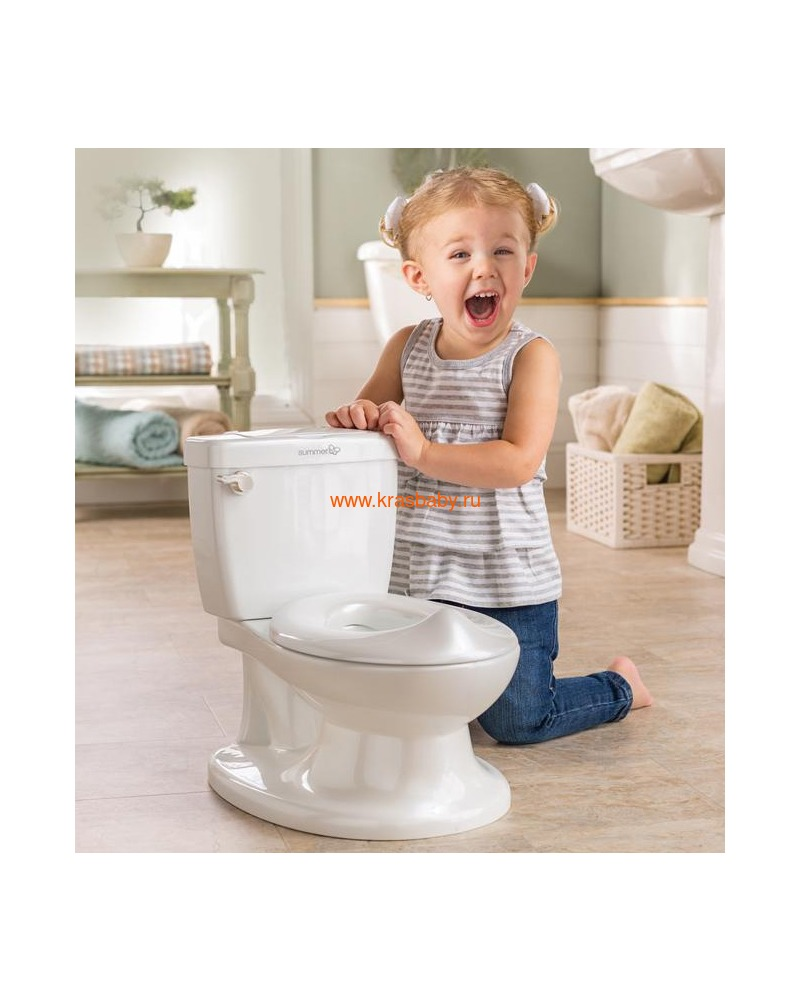 SUMMER INFANT Детский горшок My Size Potty (фото, вид 7)