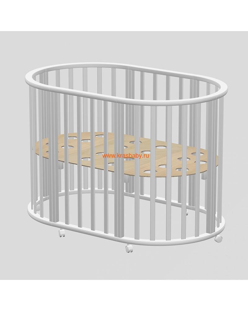Кроватка ВЕДРУСС Оливия (круглая) (фото, вид 2)