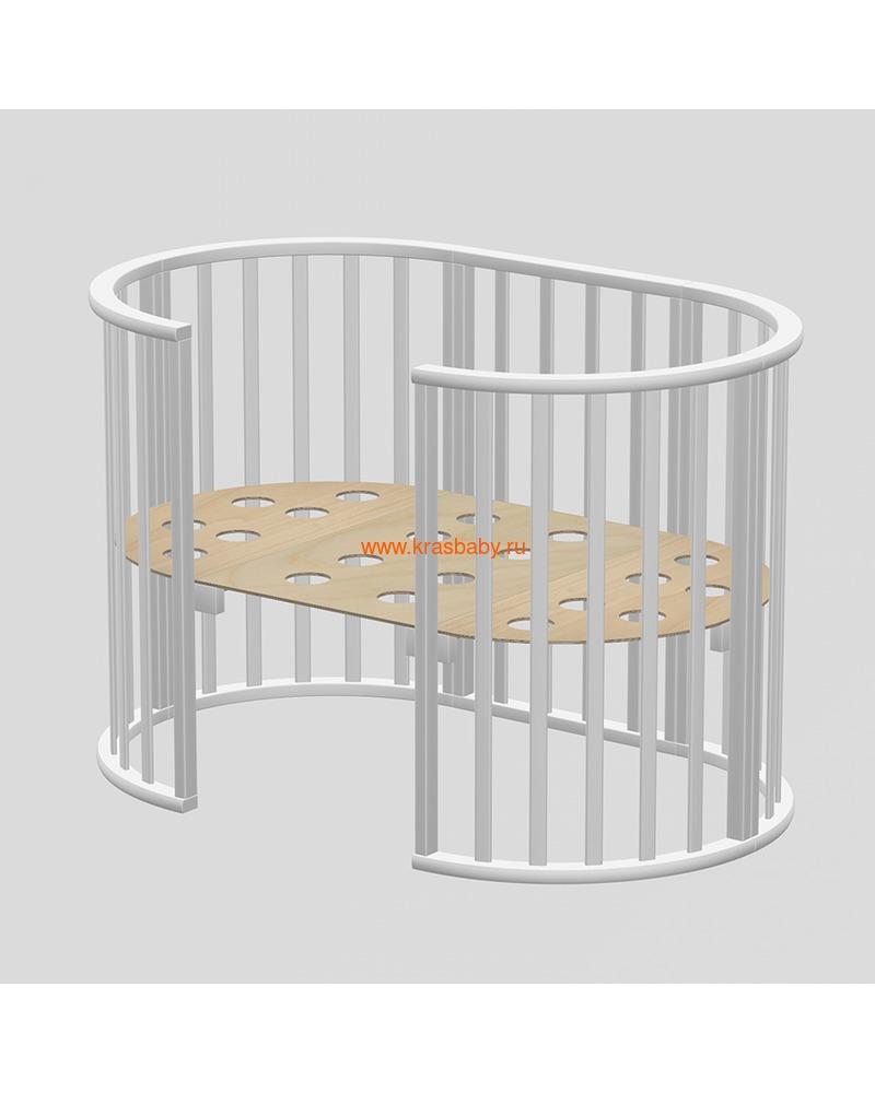 Кроватка ВЕДРУСС Оливия (круглая) (фото, вид 3)