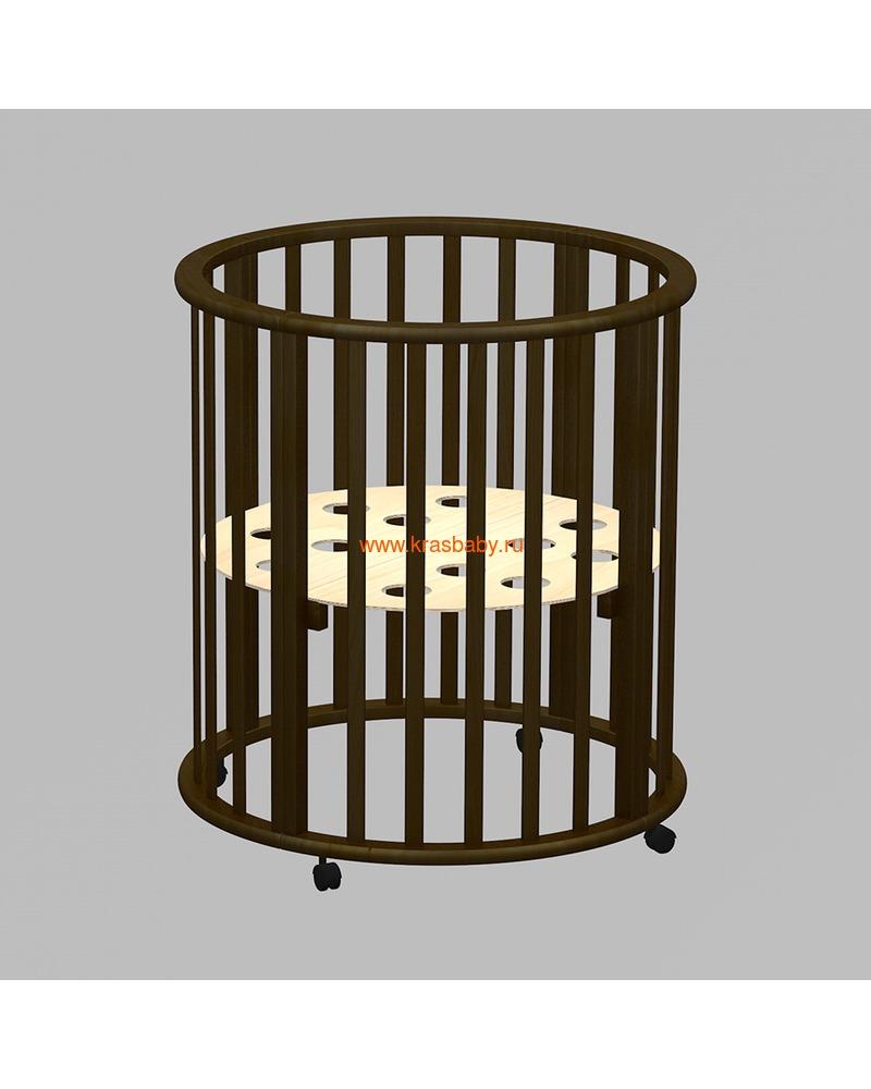 Кроватка ВЕДРУСС Оливия (круглая) (фото, вид 4)