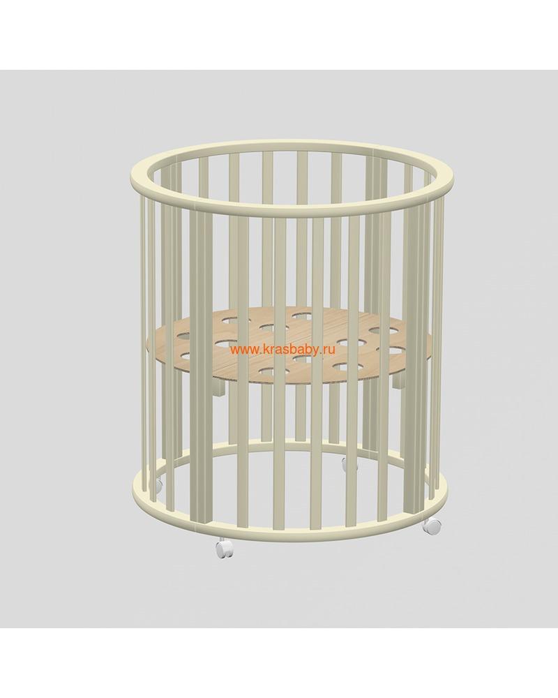 Кроватка ВЕДРУСС Оливия (круглая) (фото, вид 7)