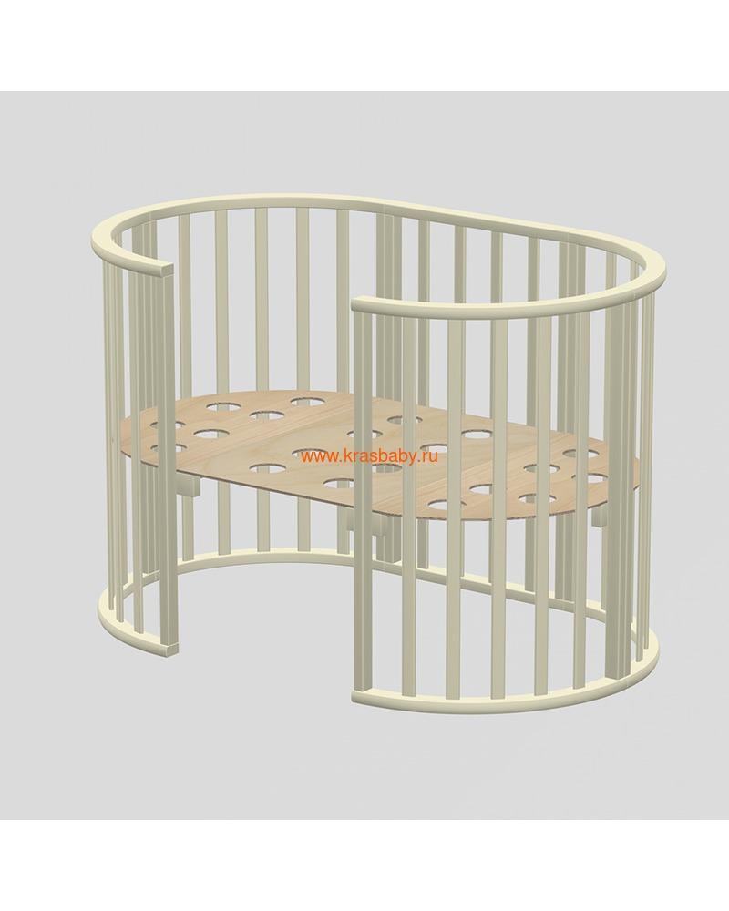 Кроватка ВЕДРУСС Оливия (круглая) (фото, вид 9)