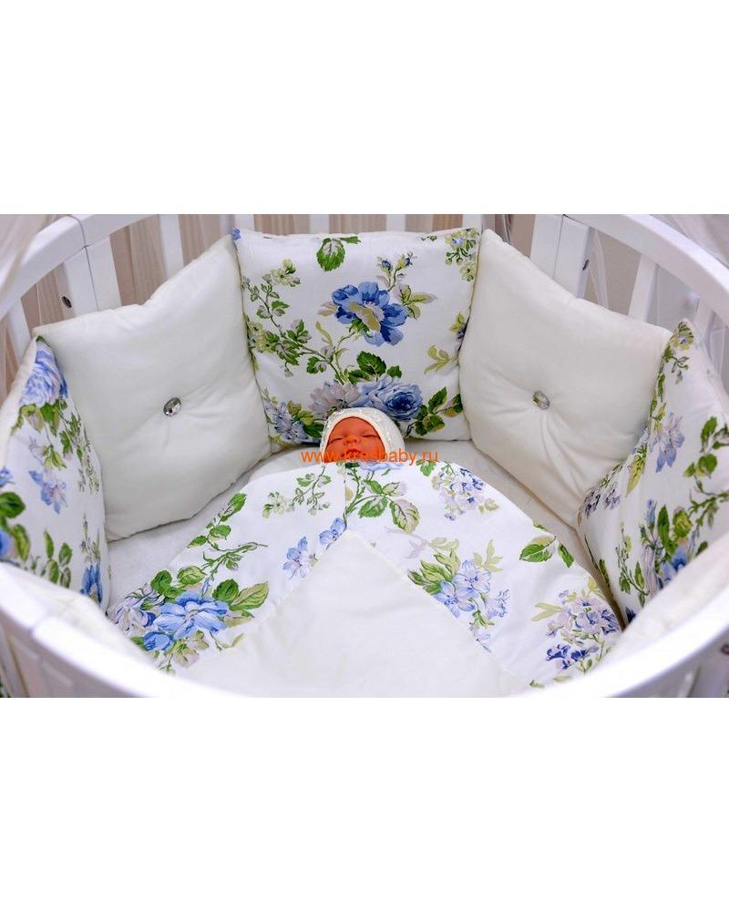 Постельное белье GulSara Морской (для круглой кроватки) (фото, вид 1)