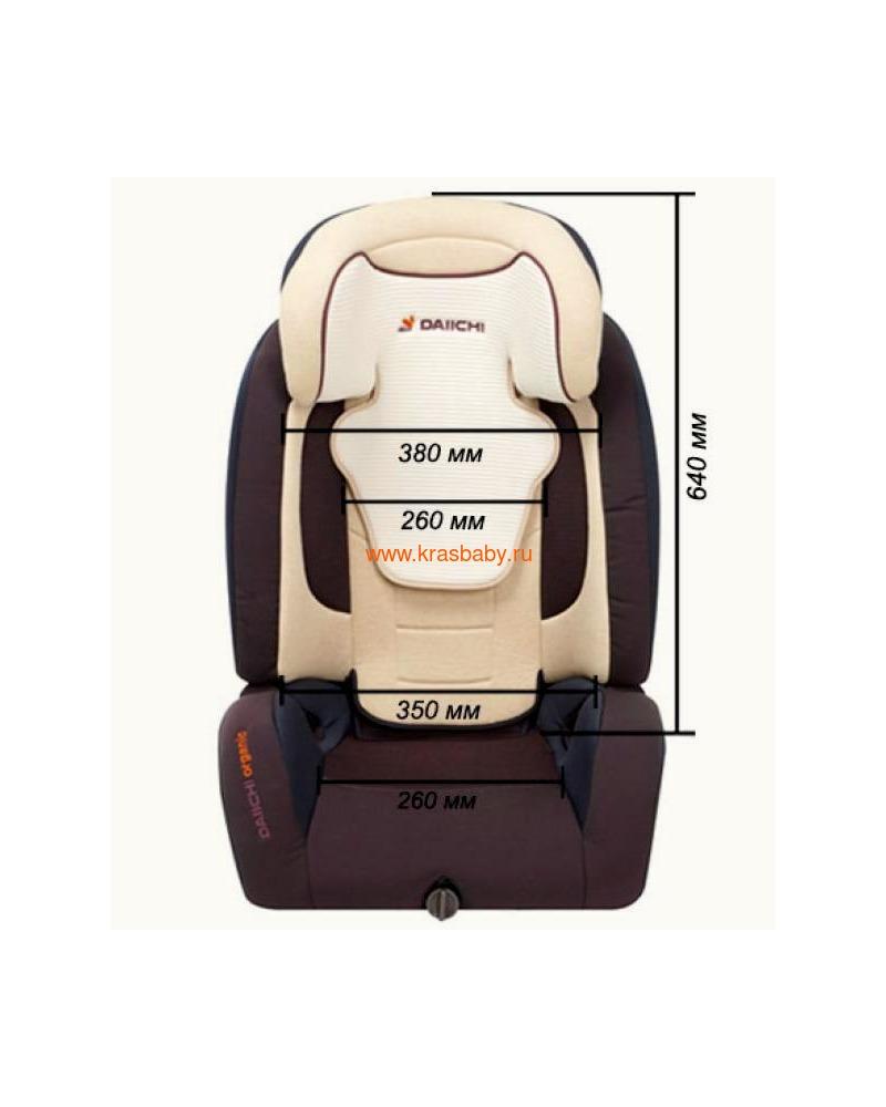 Автокресло DAIICHI D-Guard Junior™ ISOFIX (15-36 кг) (фото, вид 18)