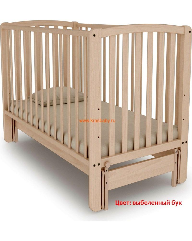 Кроватка Angela Bella (продольный маятник) (фото, вид 7)