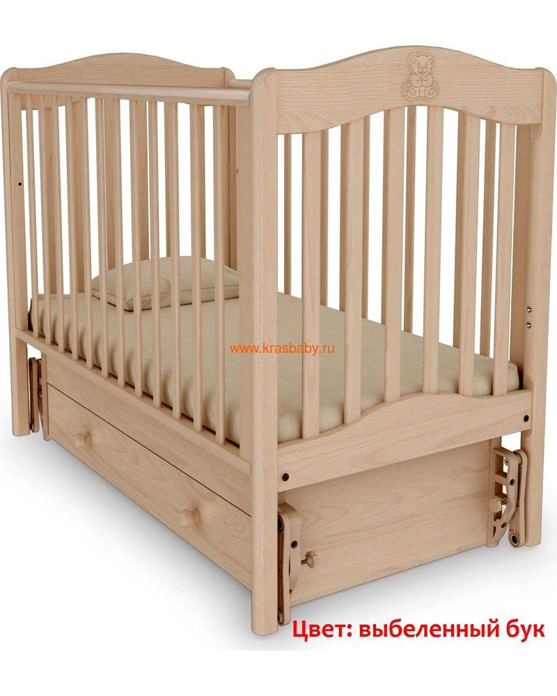 Кроватка GANDYLYAN ВАНЕЧКА (фото, вид 16)